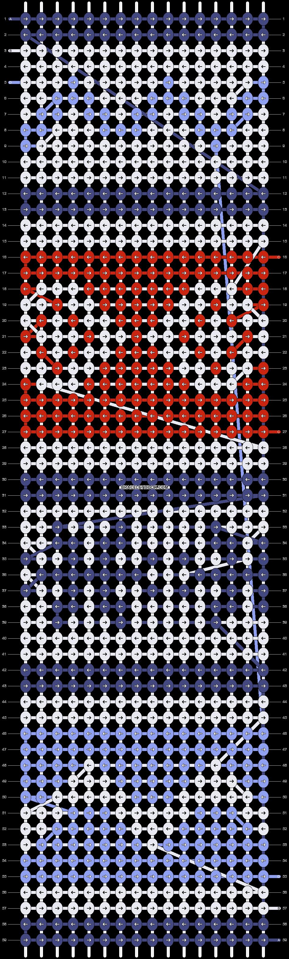 Alpha pattern #24096 pattern
