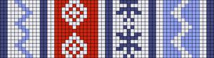 Alpha pattern #24096