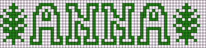 Alpha pattern #24099
