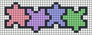 Alpha pattern #24101