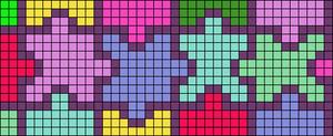 Alpha pattern #24103
