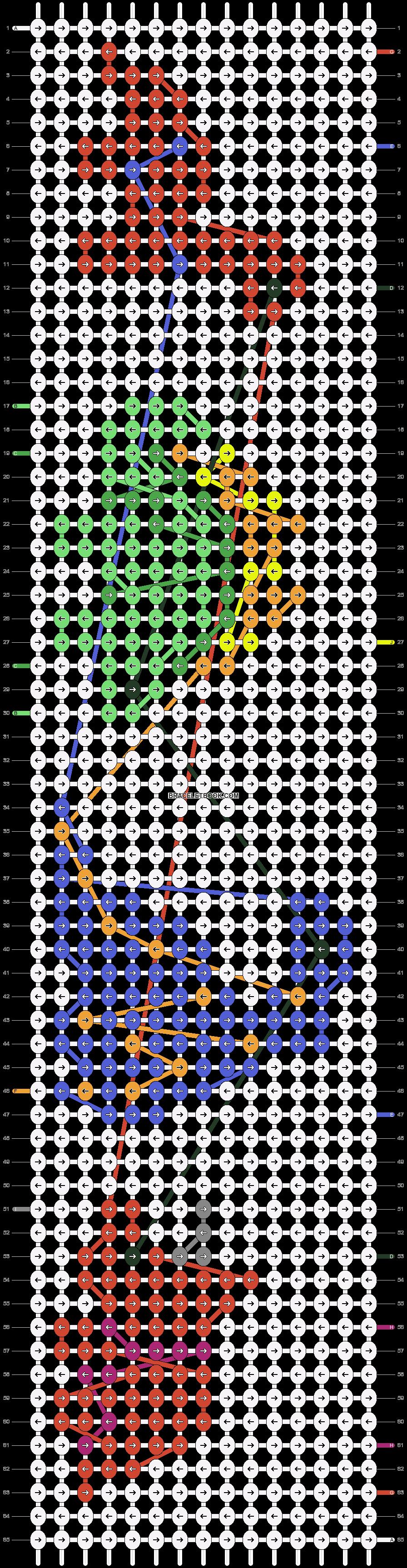Alpha pattern #24109 pattern