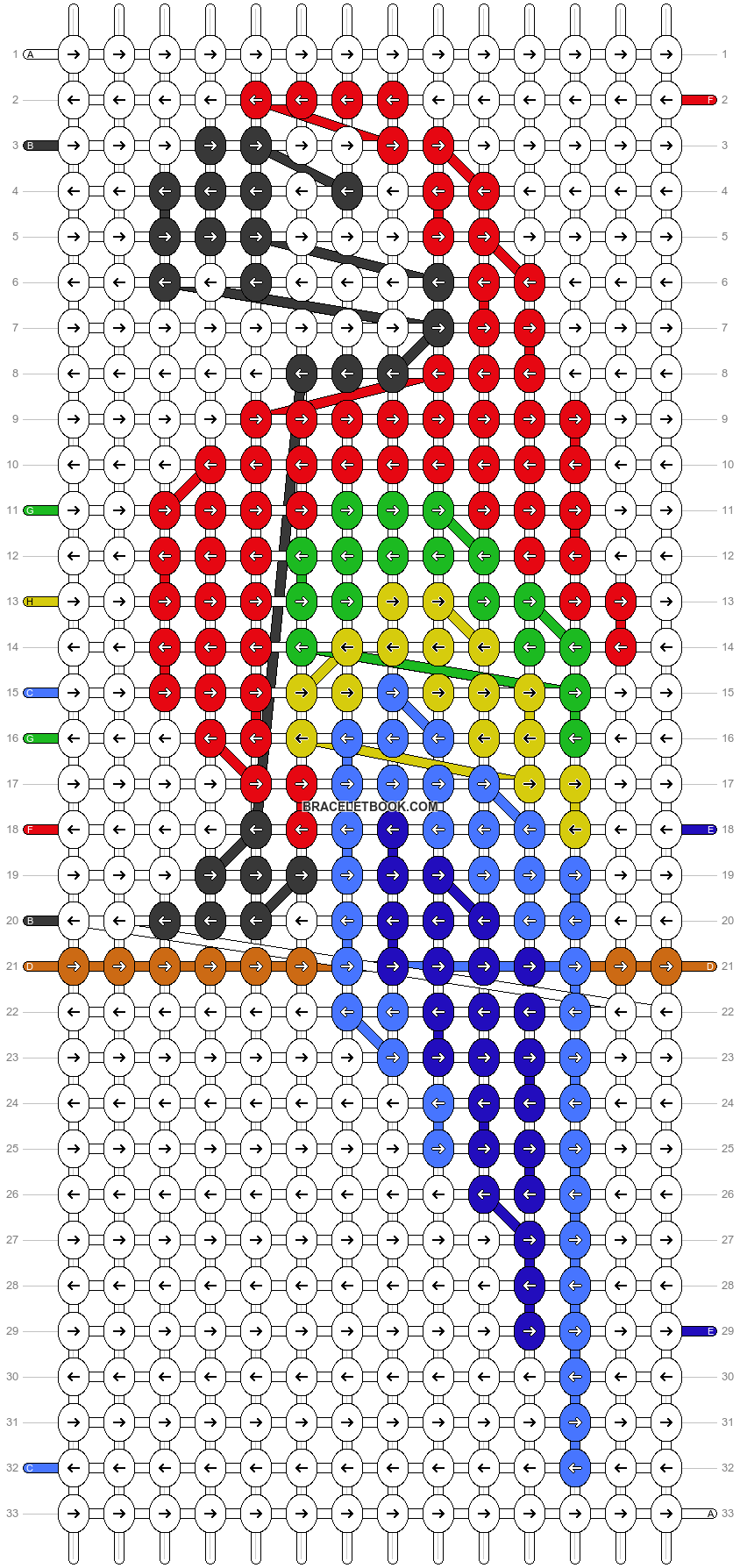 Alpha pattern #24120 pattern
