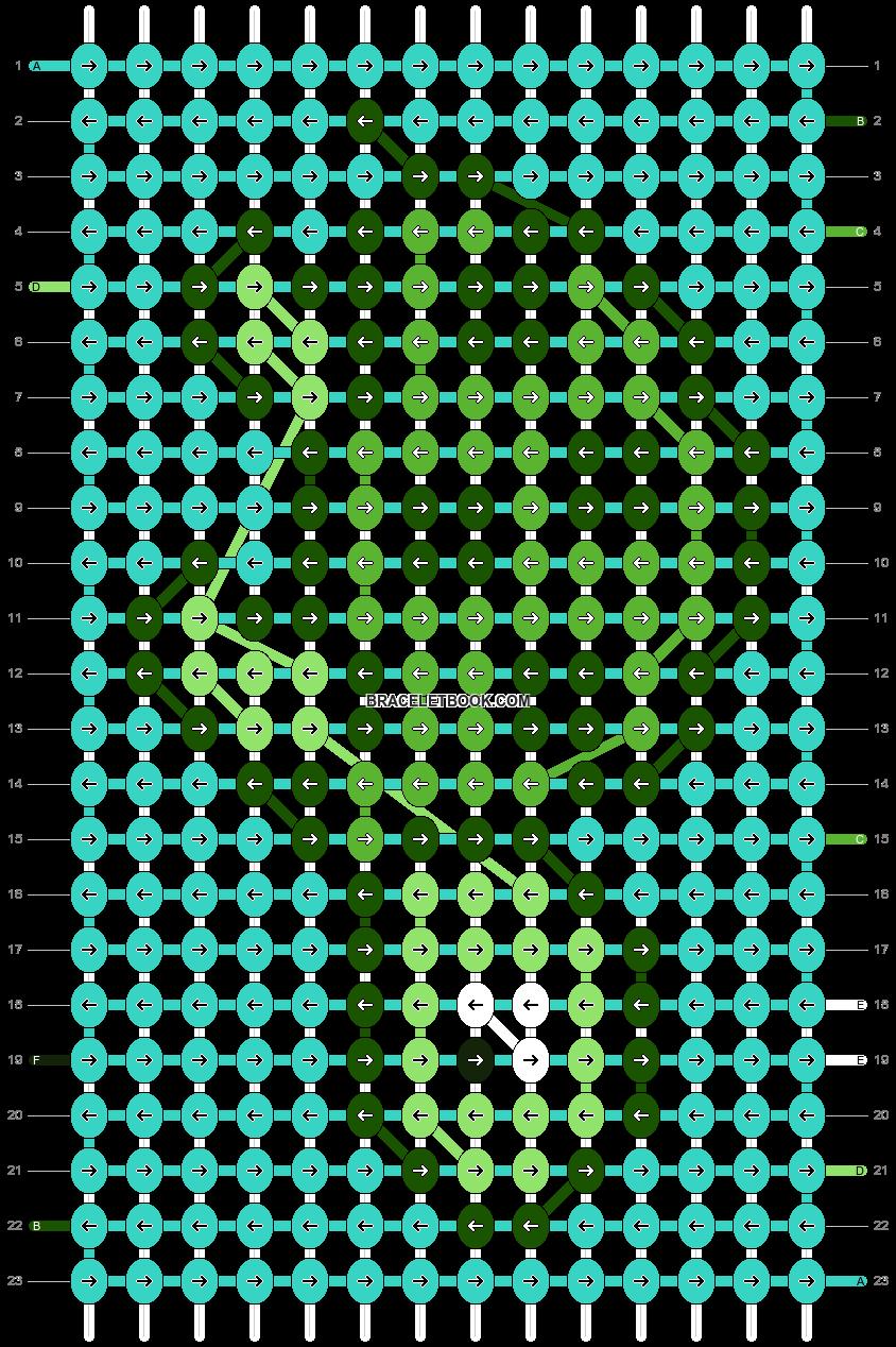 Alpha pattern #24121 pattern