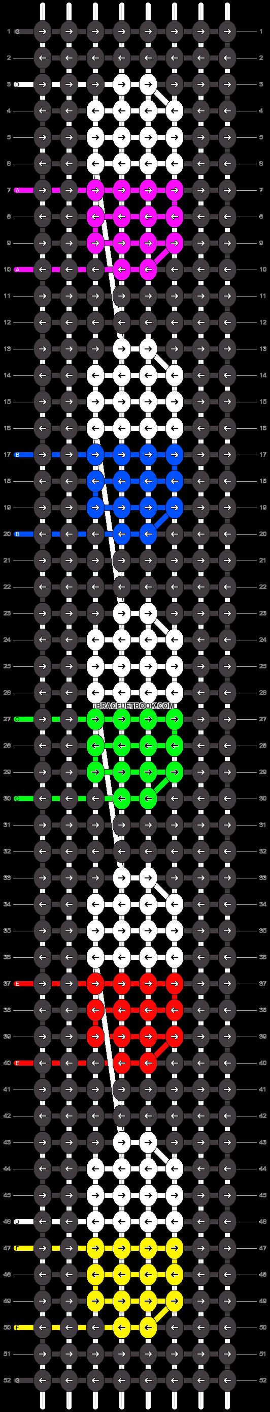 Alpha pattern #24200 pattern