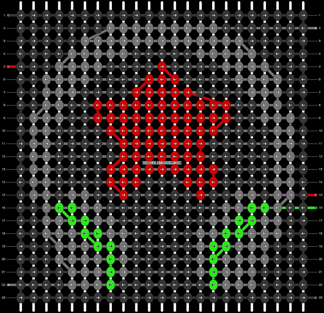 Alpha pattern #24328 pattern