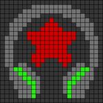 Alpha pattern #24328