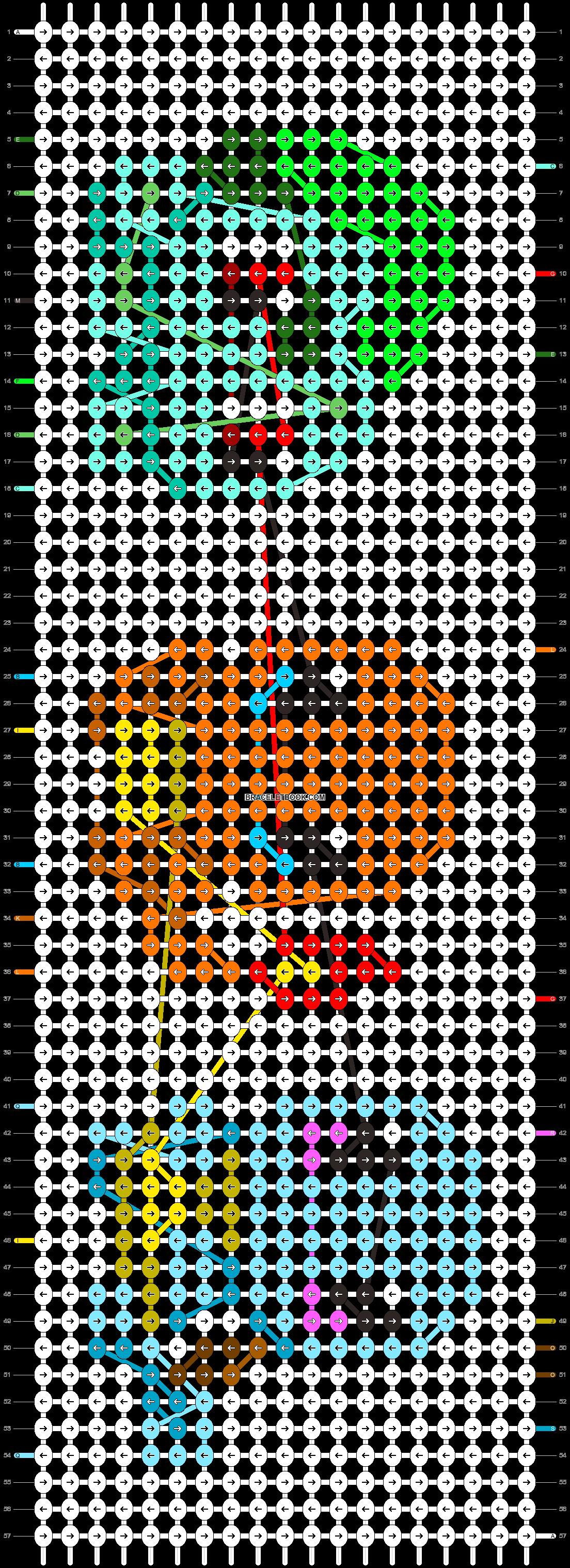 Alpha pattern #24353 pattern
