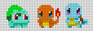 Alpha pattern #24353