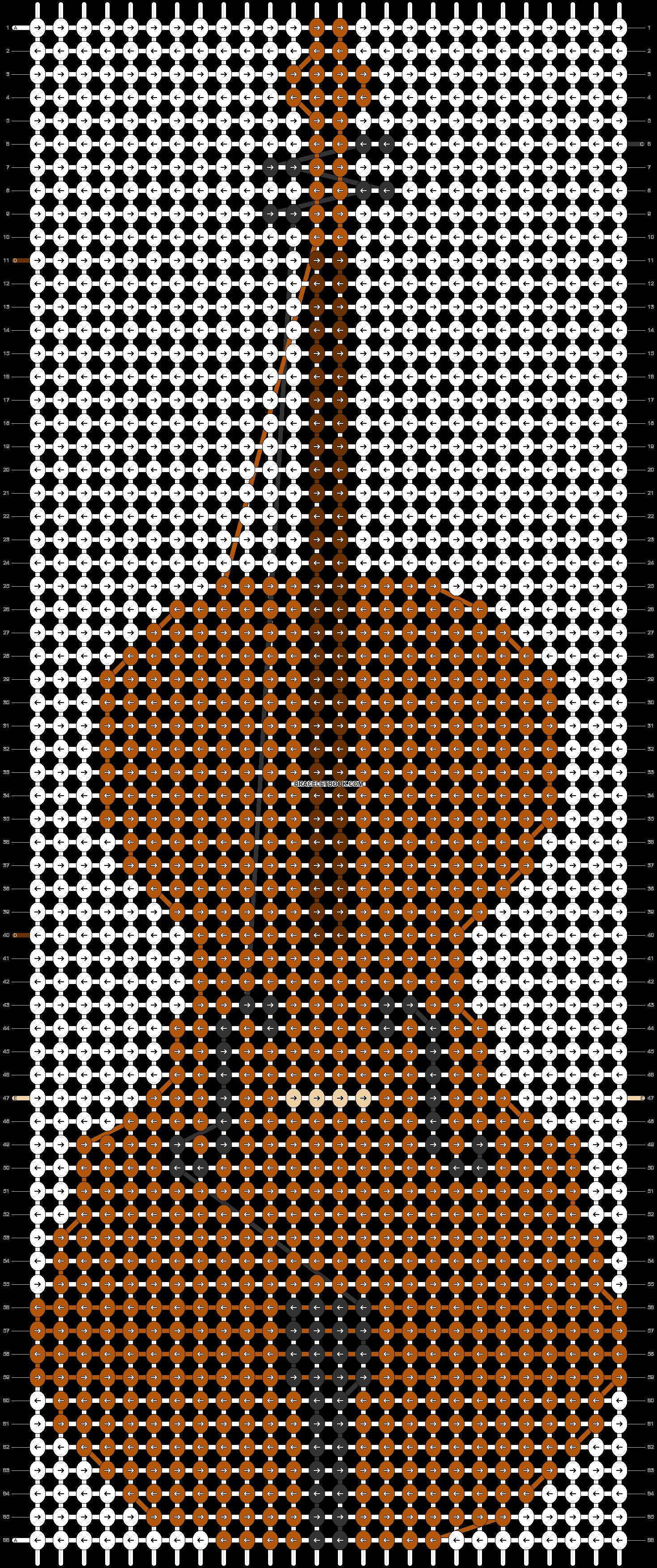 Alpha pattern #24457 pattern