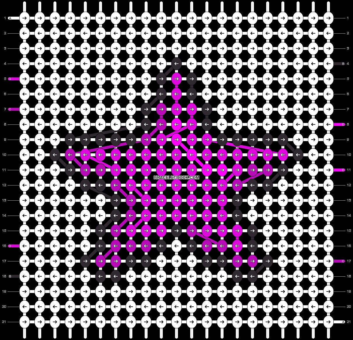 Alpha pattern #24463 pattern