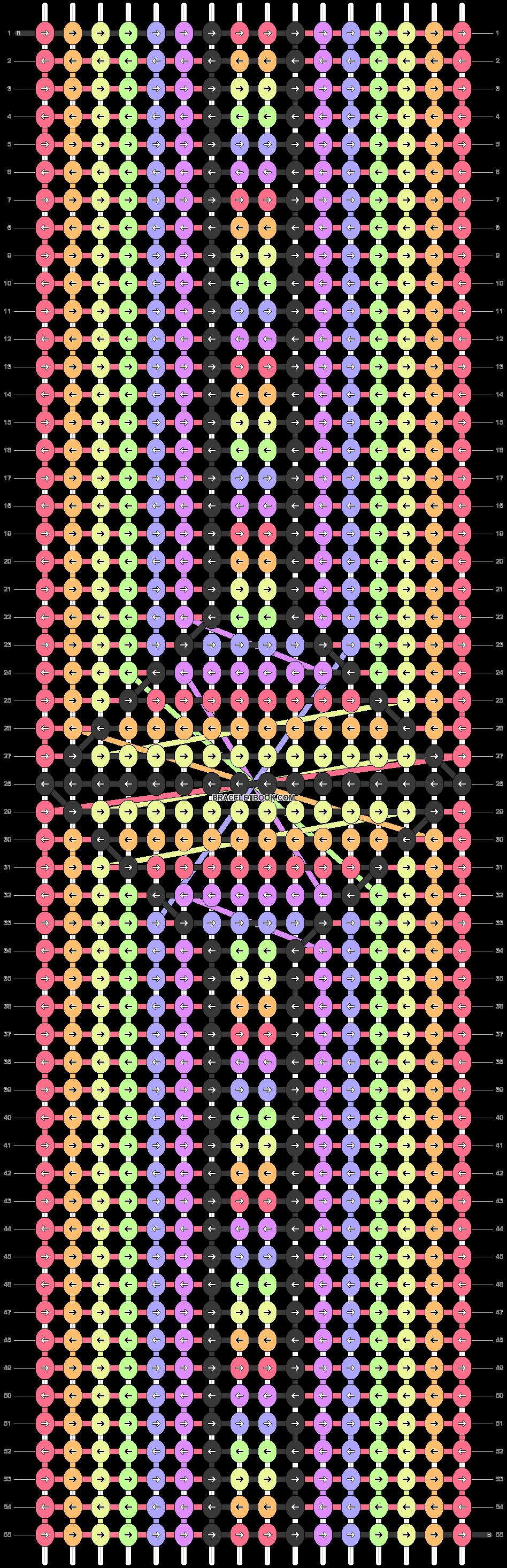 Alpha pattern #24464 pattern
