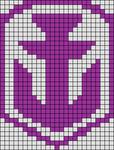 Alpha pattern #24466