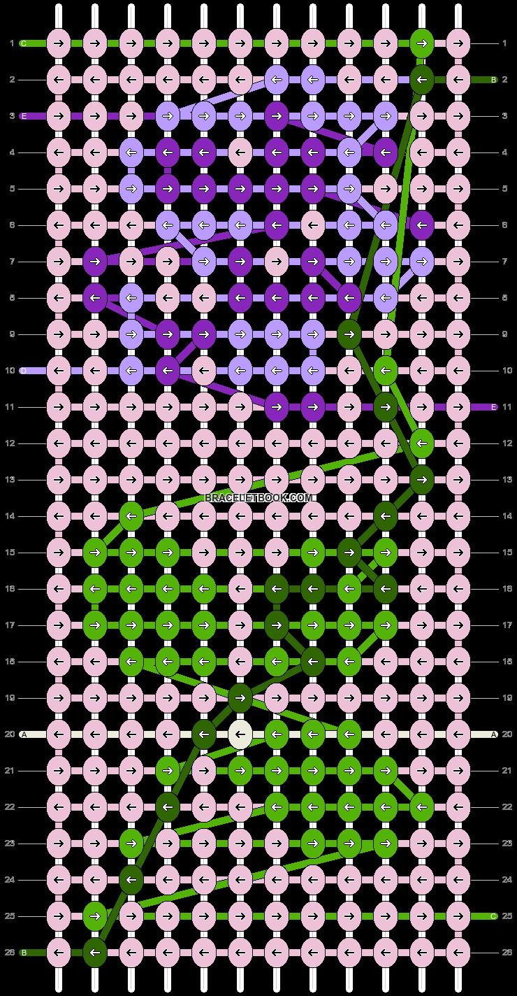 Alpha pattern #24476 pattern