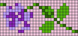 Alpha pattern #24476