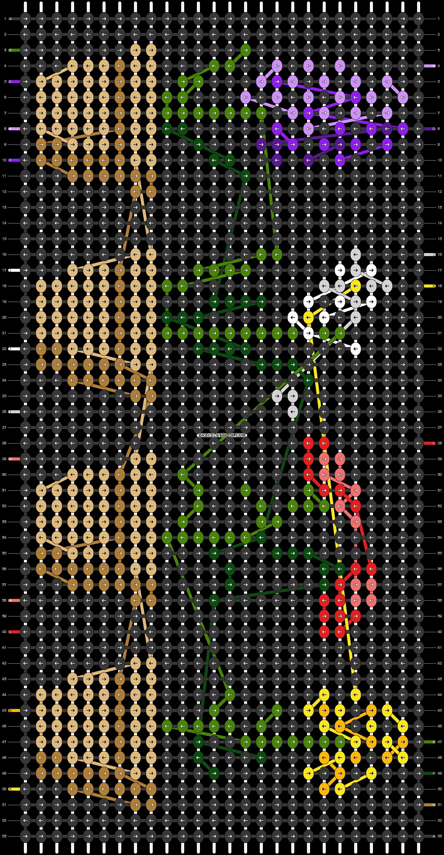 Alpha pattern #24491 pattern