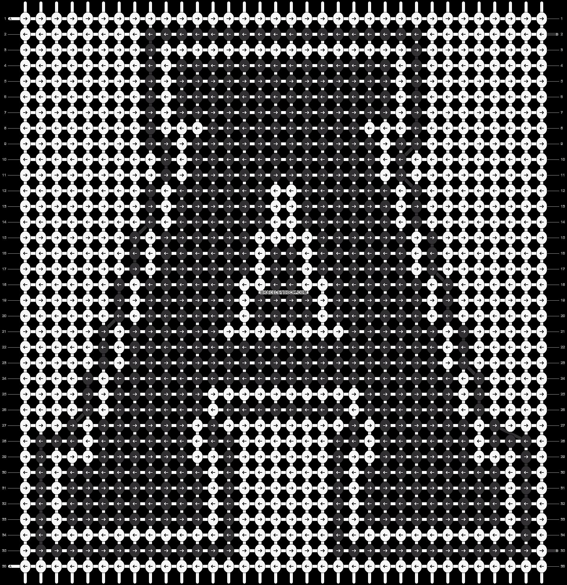 Alpha pattern #24499 pattern