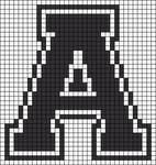 Alpha pattern #24499