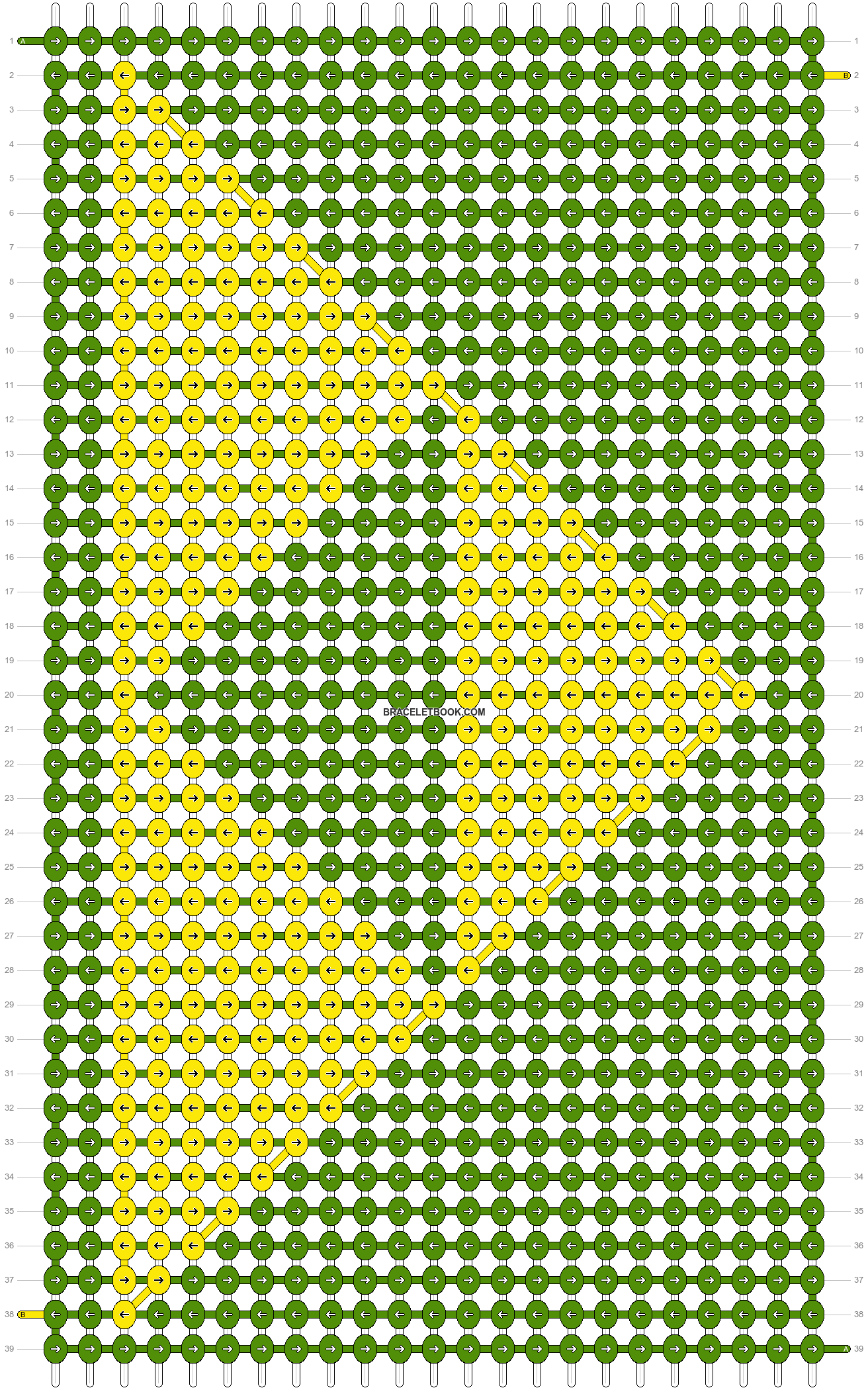 Alpha pattern #24539 pattern