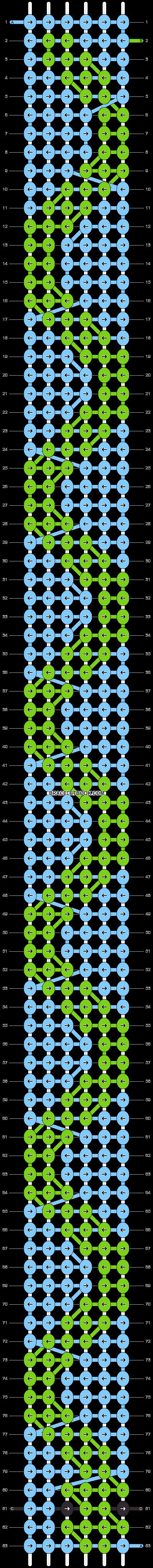 Alpha pattern #24569 pattern