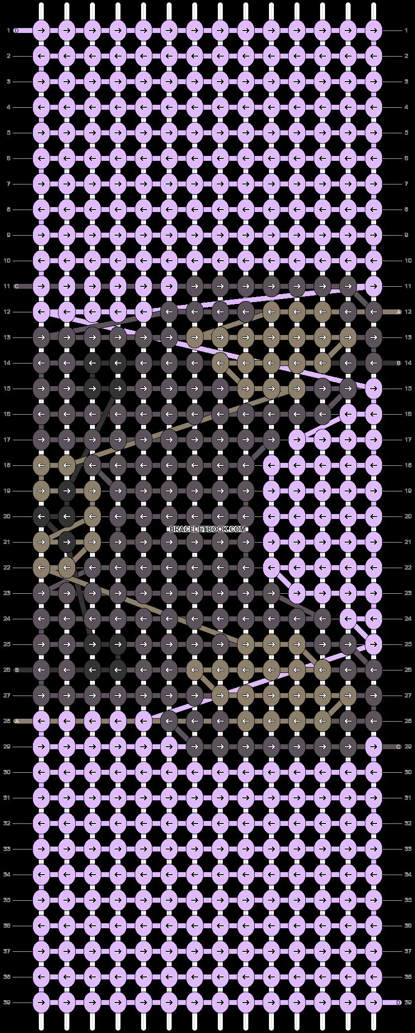Alpha pattern #24588 pattern