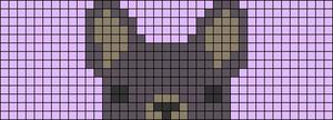 Alpha pattern #24588
