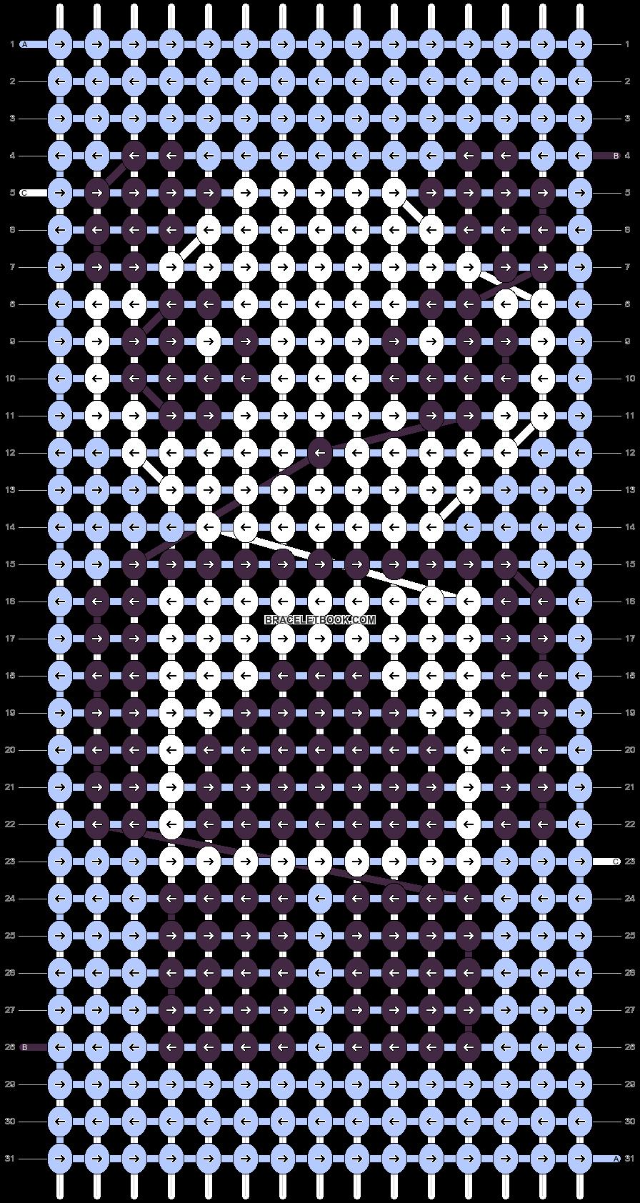 Alpha pattern #24597 pattern