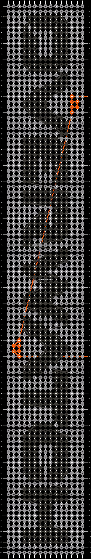 Alpha pattern #24607 pattern