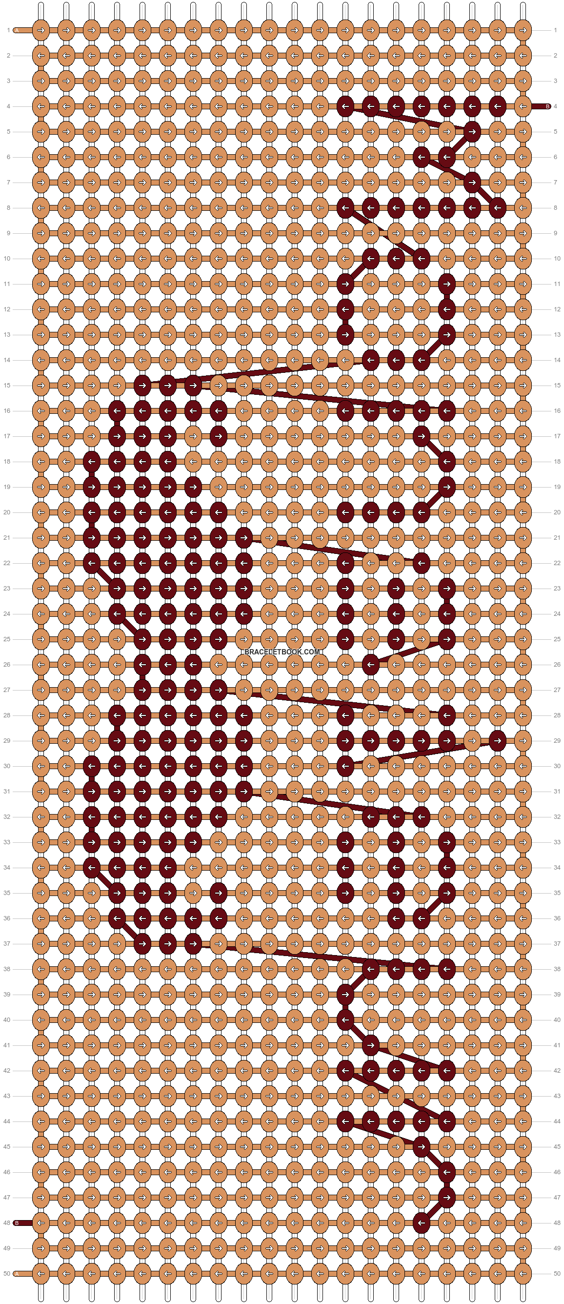 Alpha pattern #24617 pattern