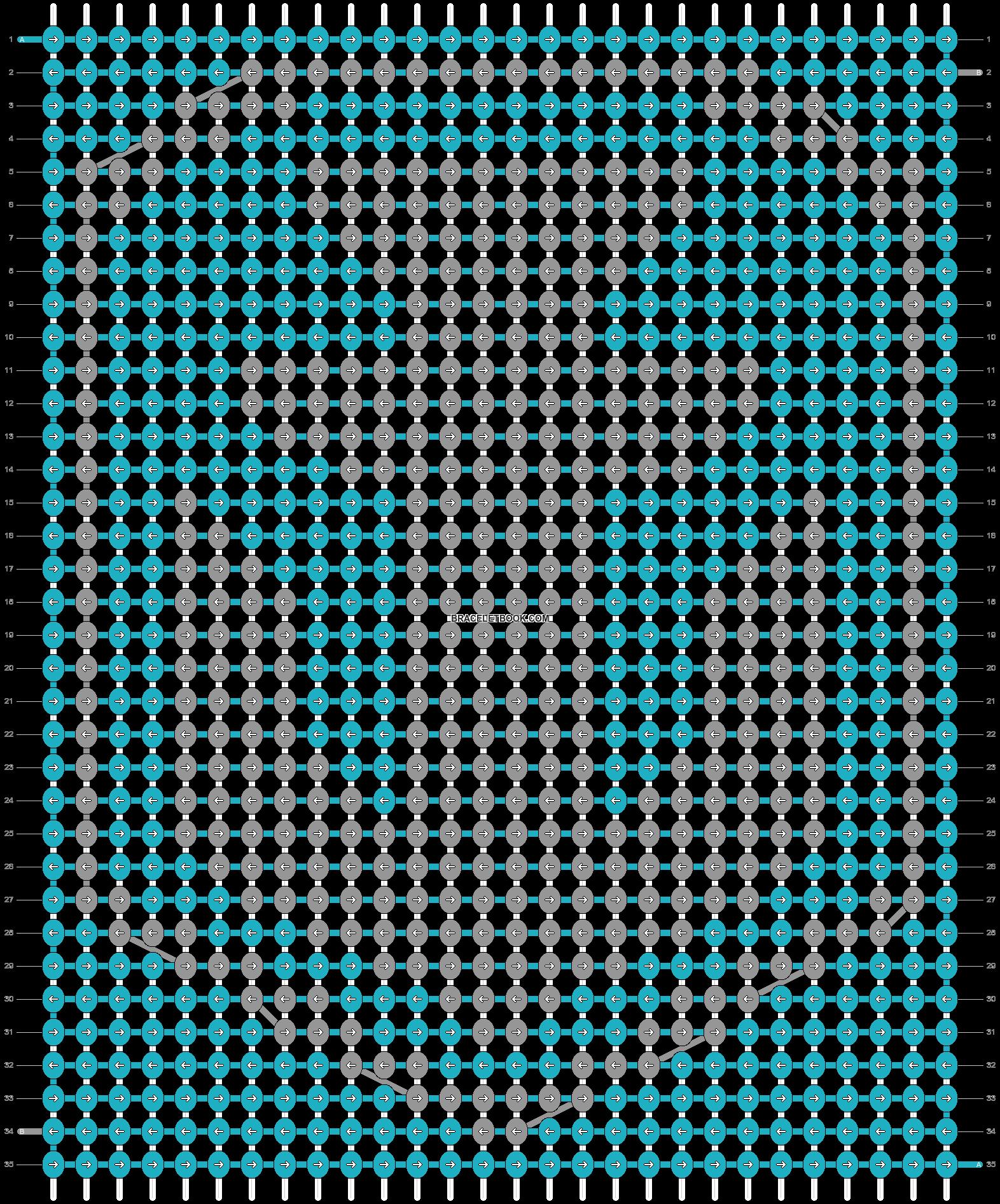 Alpha pattern #24622 pattern