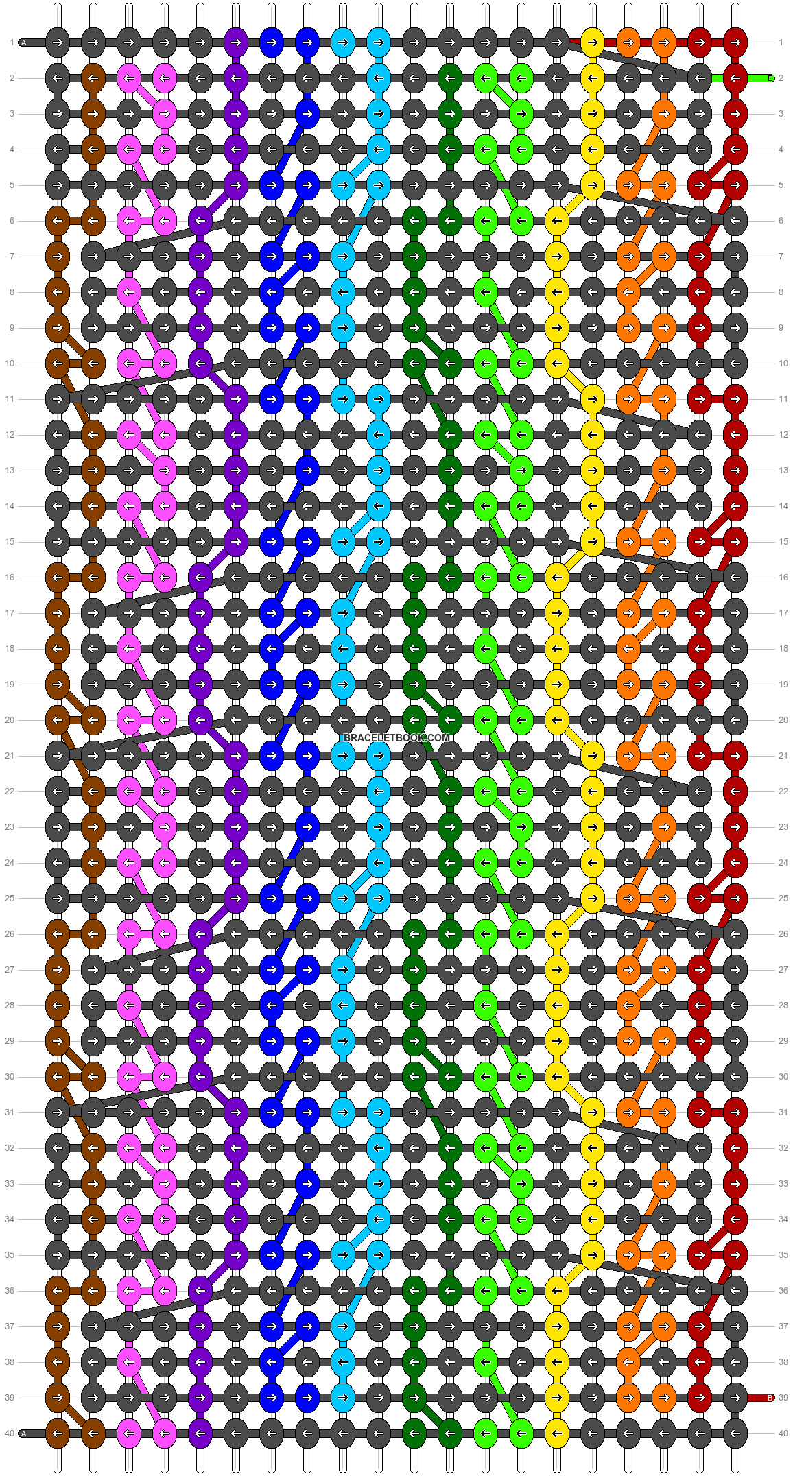 Alpha pattern #24649 pattern