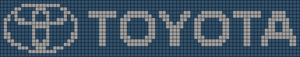 Alpha pattern #24665