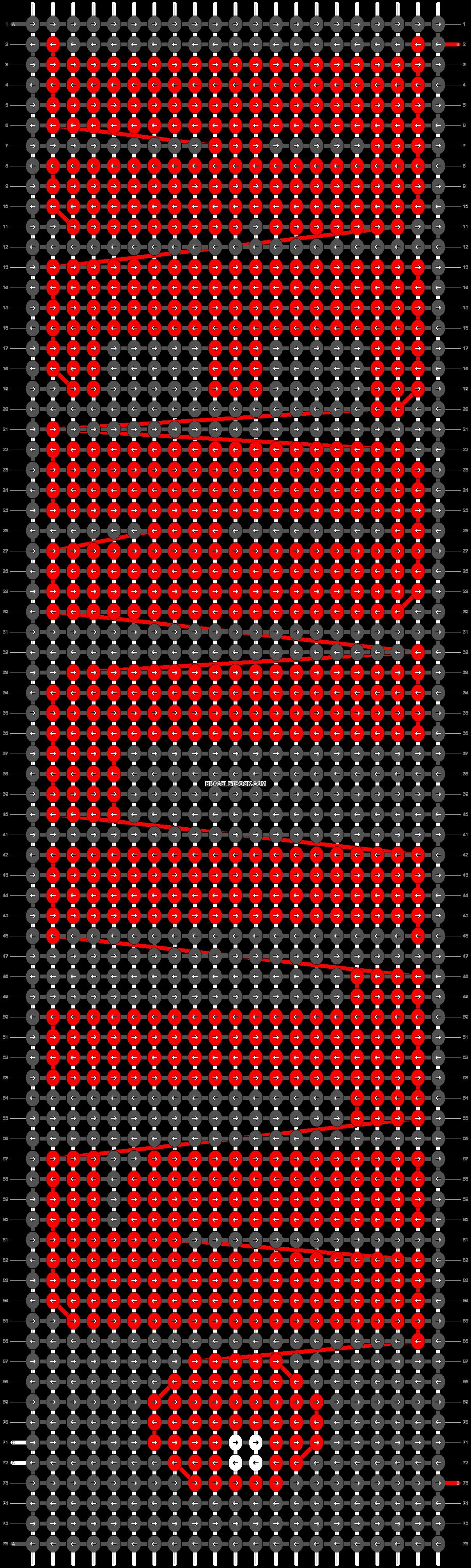 Alpha pattern #24686 pattern