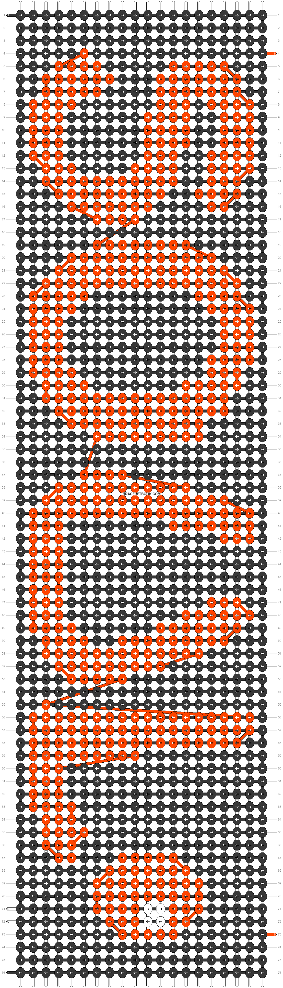 Alpha pattern #24703 pattern