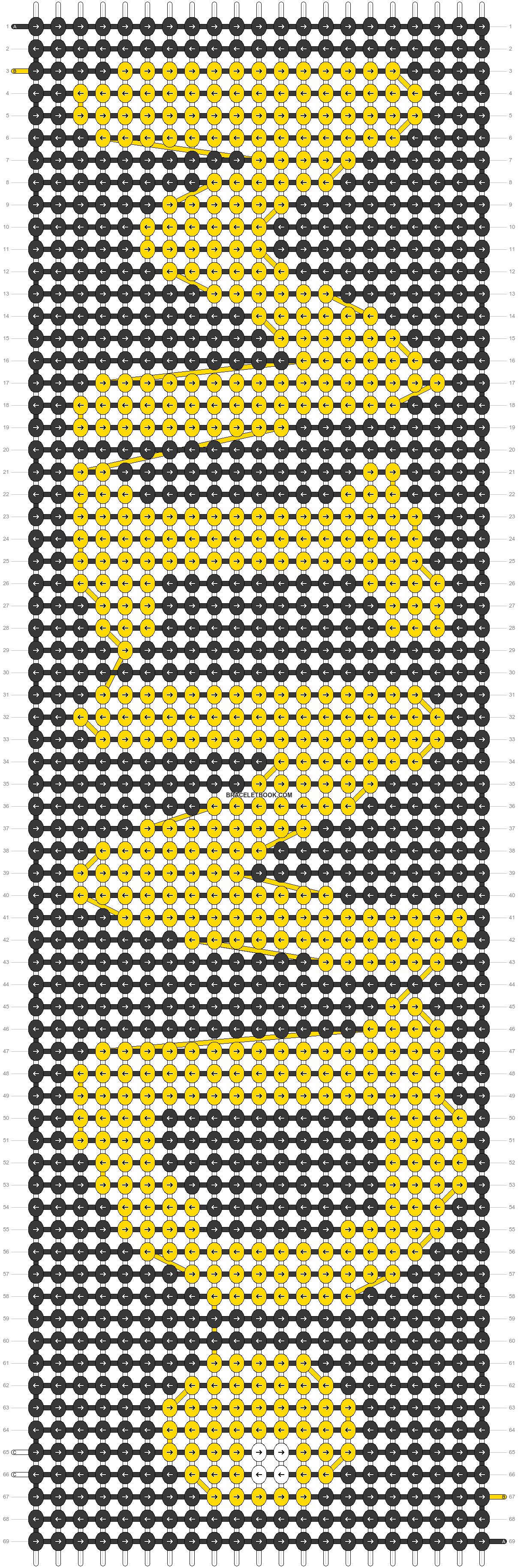 Alpha pattern #24704 pattern