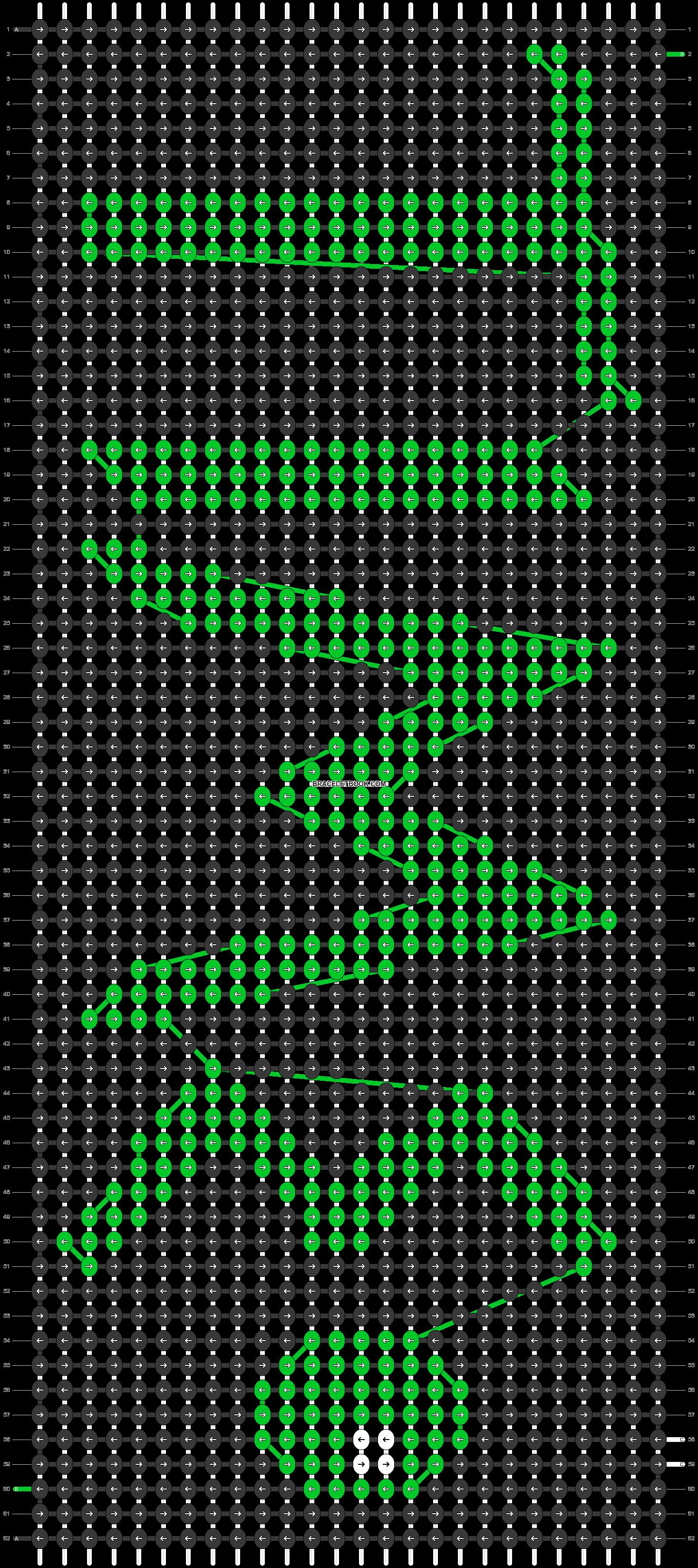 Alpha pattern #24705 pattern