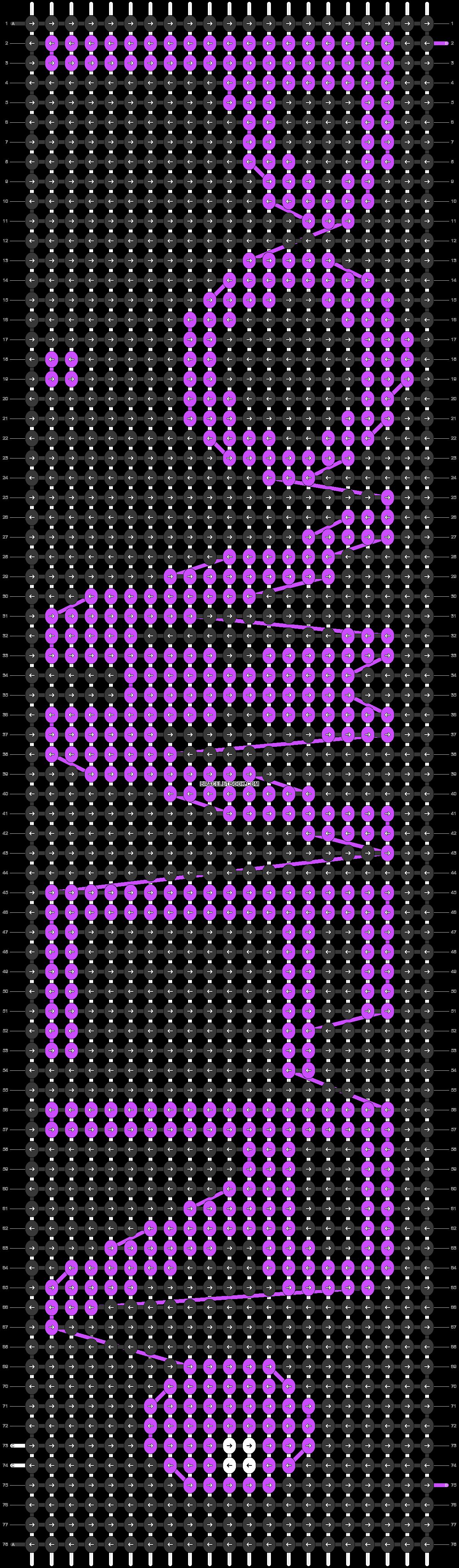 Alpha pattern #24708 pattern
