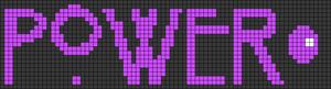 Alpha pattern #24708