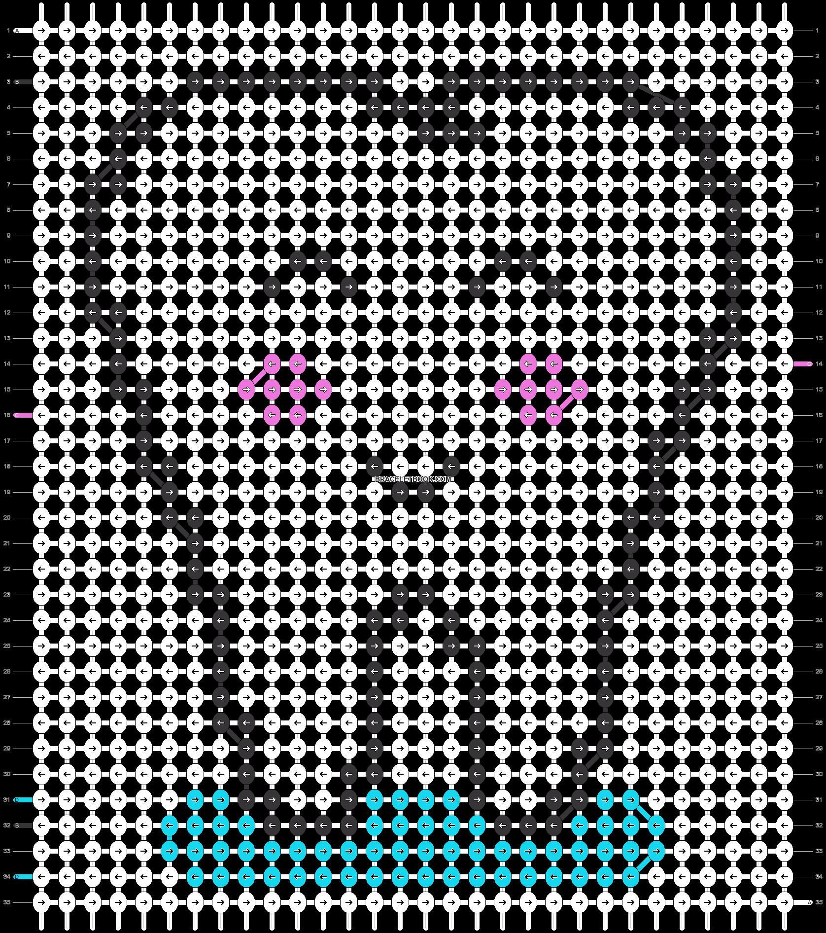 Alpha pattern #24731 pattern