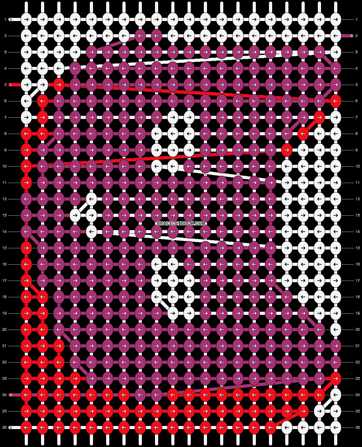 Alpha pattern #24801 pattern