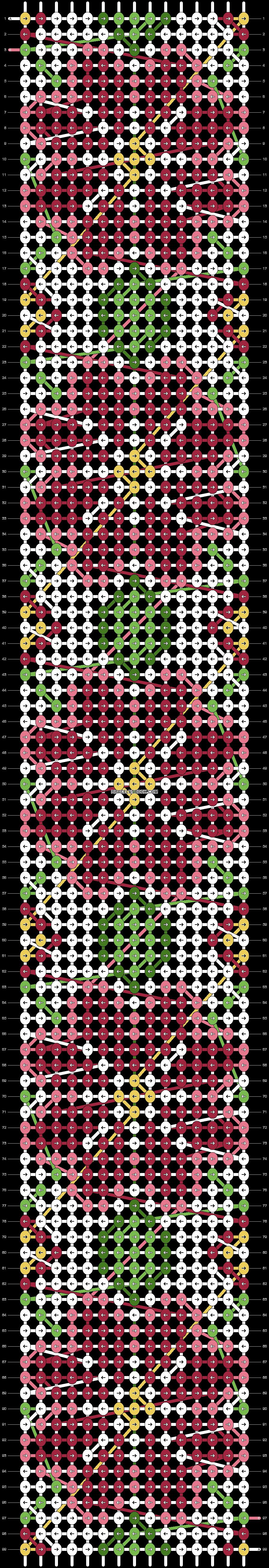 Alpha pattern #24811 pattern
