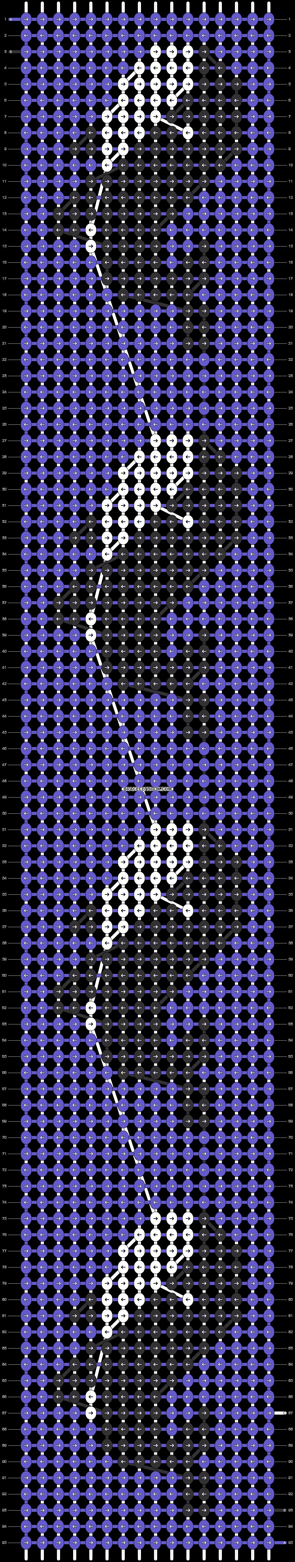 Alpha pattern #24815 pattern
