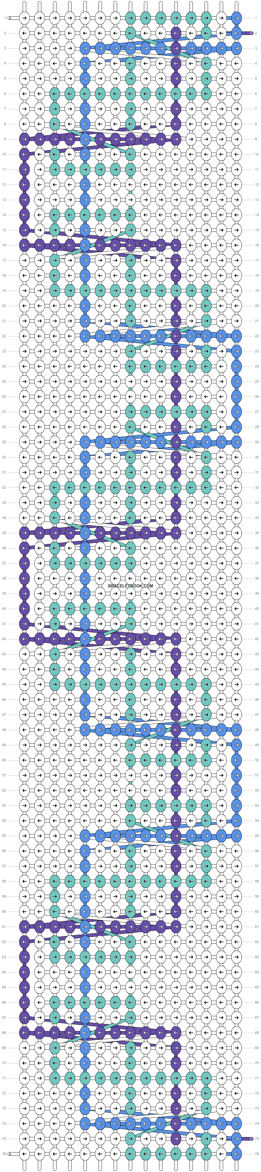 Alpha pattern #24817 pattern