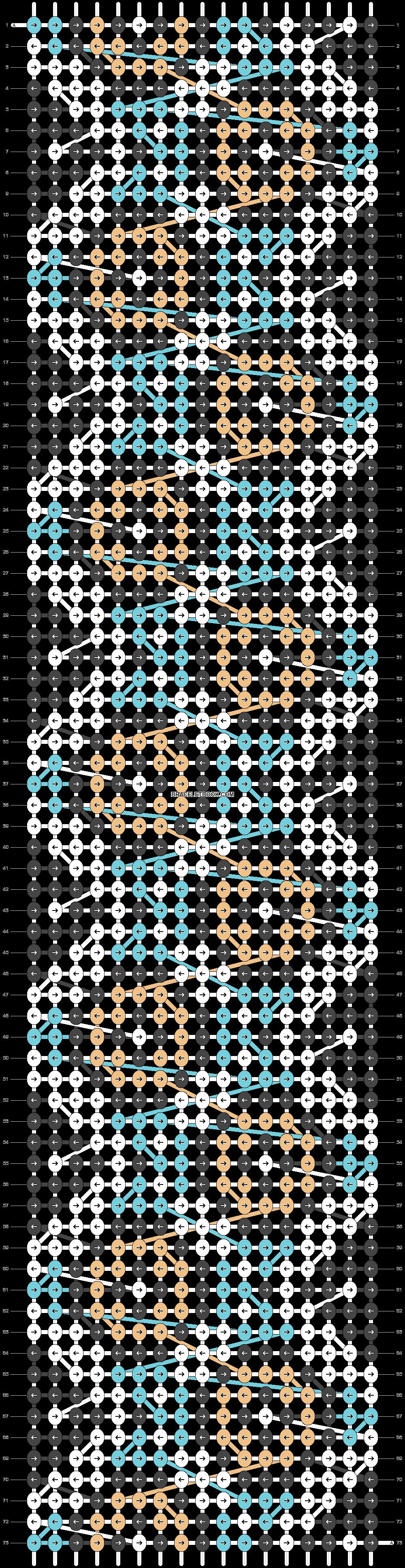 Alpha pattern #24822 pattern