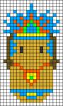 Alpha pattern #24824