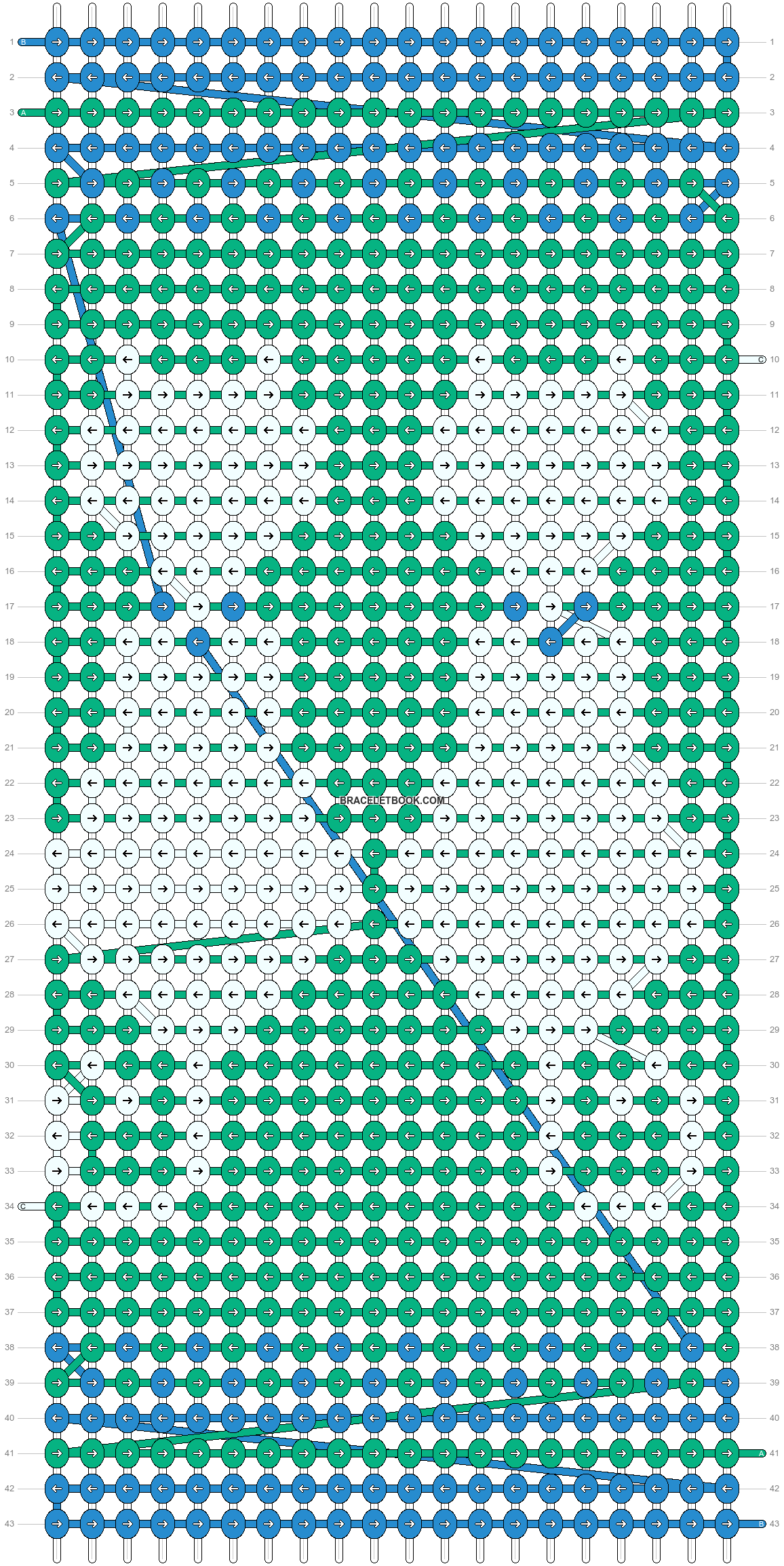 Alpha pattern #24834 pattern