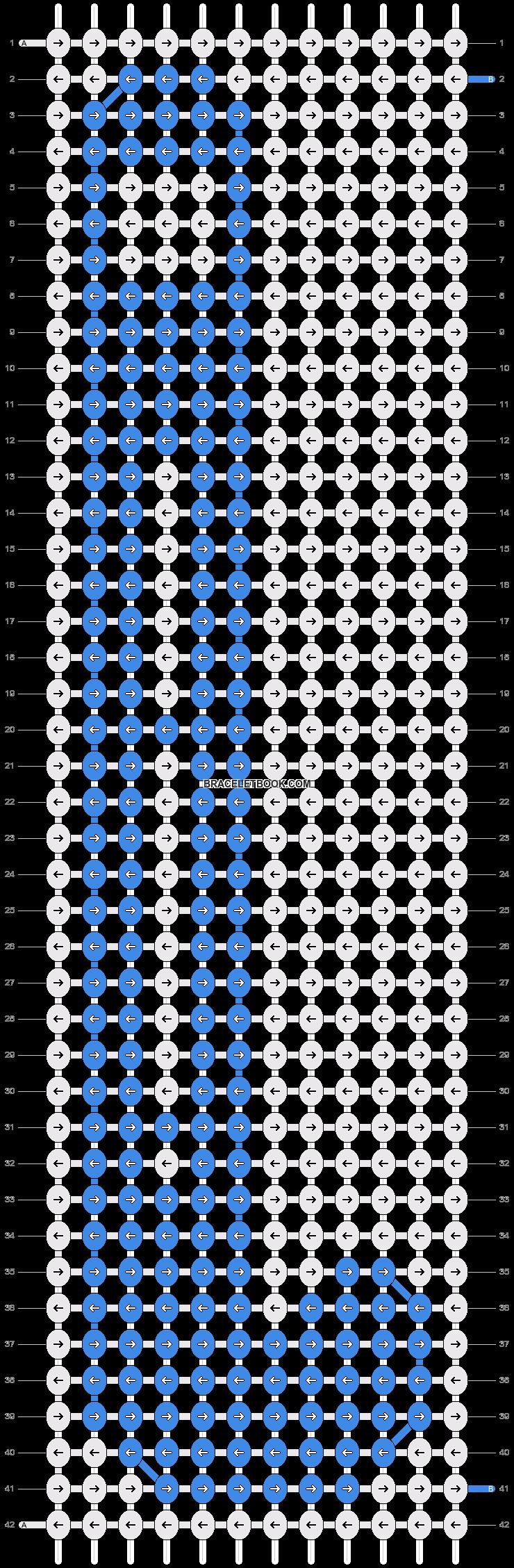 Alpha pattern #24840 pattern