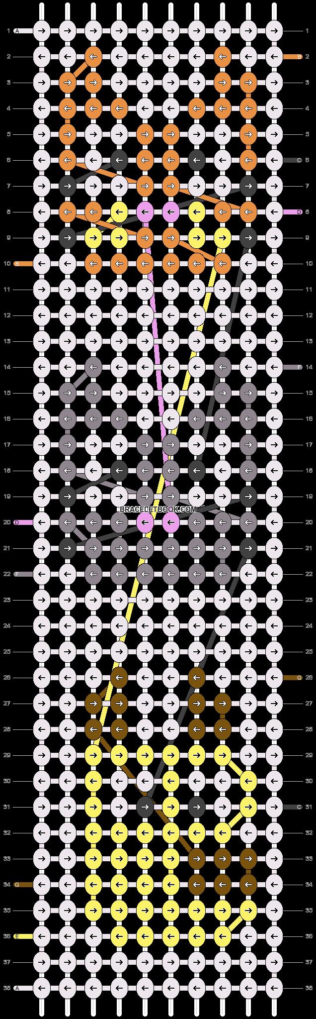 Alpha pattern #24852 pattern