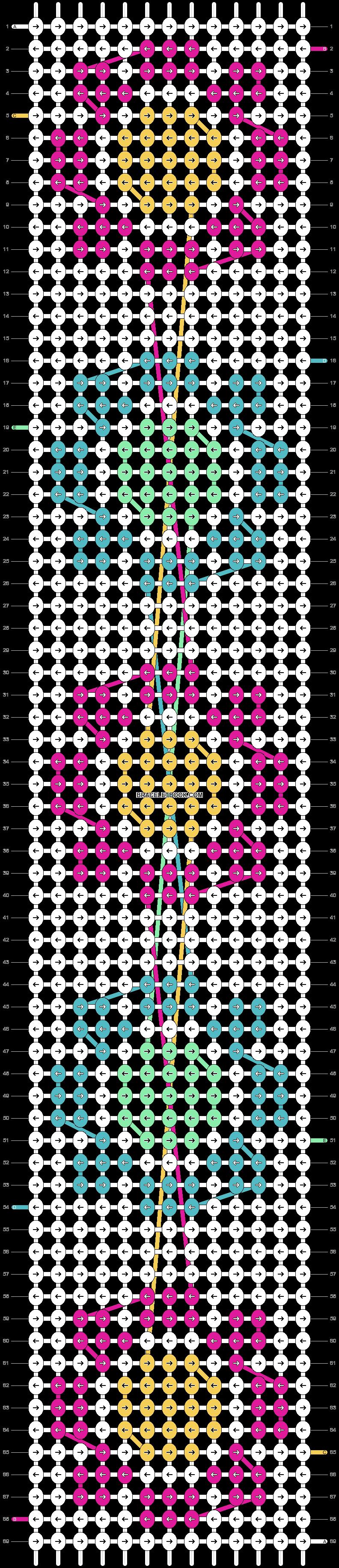 Alpha pattern #24854 pattern