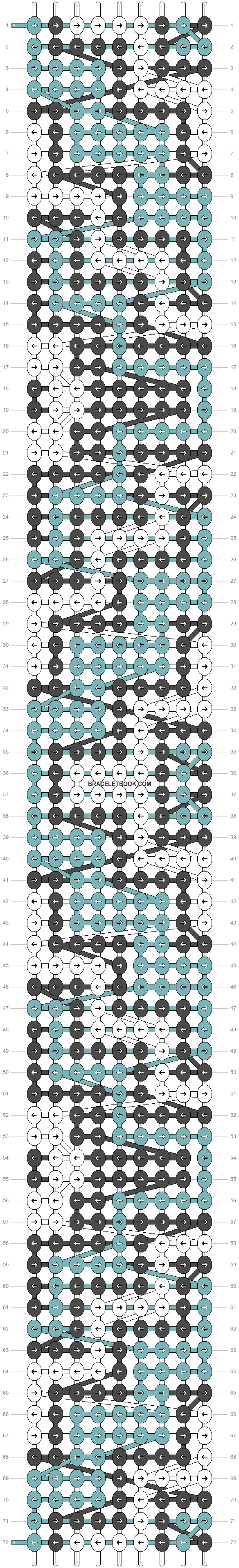 Alpha pattern #24858 pattern